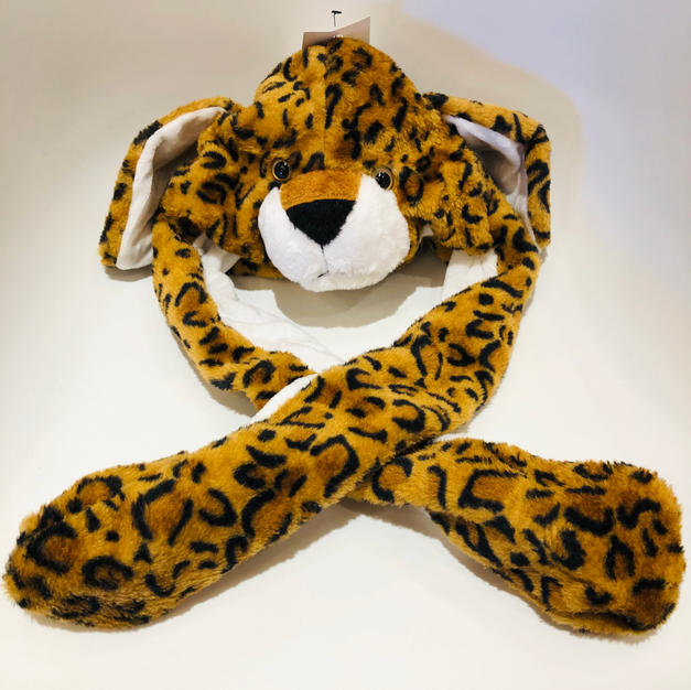 Animated Leopard Kids Hat $24.95