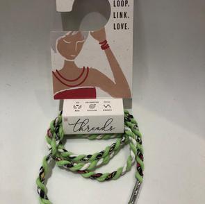 Shred Wrap Bracelet/Necklace $16.00