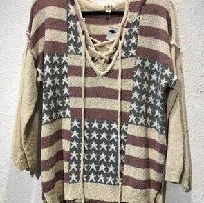 Flag Hoodie $57.50