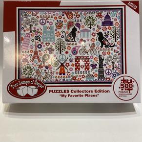 My Favorite Places 500 Piece Puzzle $19.