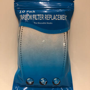 Pack of 10 Mask Replacement Filters $9.75