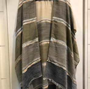 Sheer Striped Duster $39.00