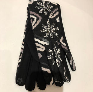 Embroidered Touch Screen Gloves $14.95