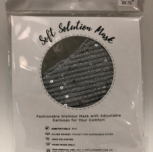 Sequined Face Mask $9.75