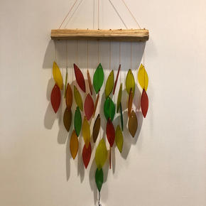 GLASS WIND CHIME $29.95
