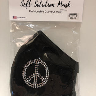 Peace Bling Face Mask $12.50