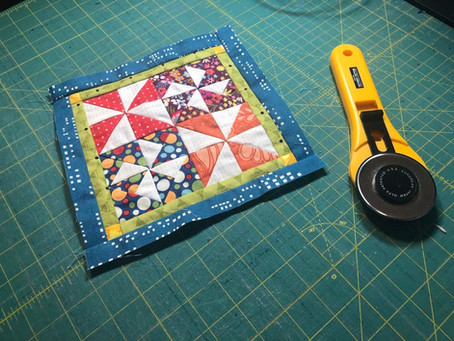 My Miniature Quilt Journey