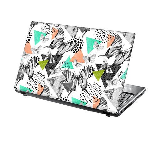 Laptop Skin Vinyl Sticker Butterflies
