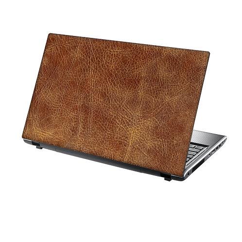 Laptop Skin Vinyl Sticker Leather Texture