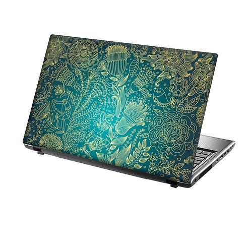Laptop Skin Vinyl Sticker Beautiful Flowers and Birds