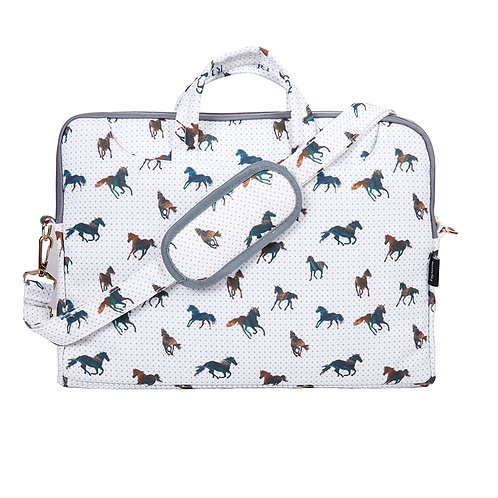 "Laptop Shoulder Bag (15.6"") Majestic Horses"