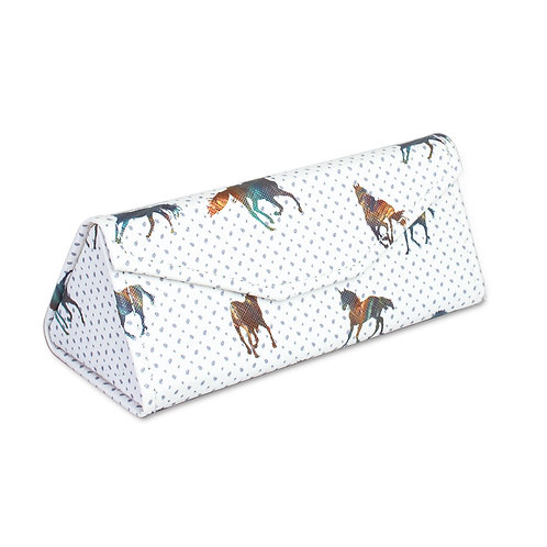 Elegant Horse Glasses Case