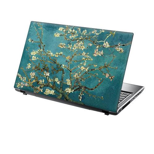 Laptop Skin Vinyl Sticker Almond Blossom