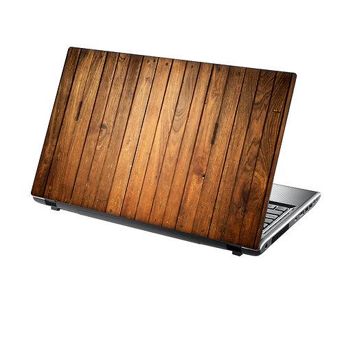 Laptop Skin Vinyl Sticker Wood Panels