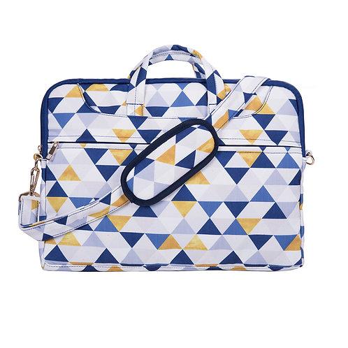 "Laptop Shoulder Bag (15.6"") Geometric"