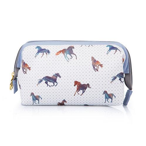 Horse makeup bag