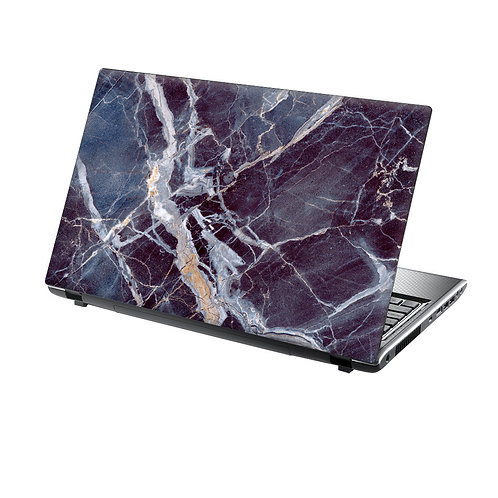 Laptop Skin Vinyl Sticker Stunning Blue Marble
