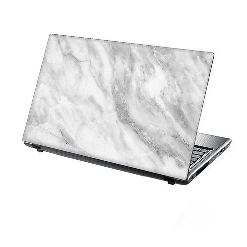 White Marble Laptop Skin
