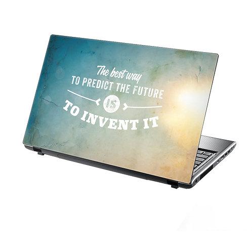 Laptop Skin Vinyl Sticker Invent The Future