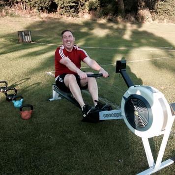 Rowing technique with Matt