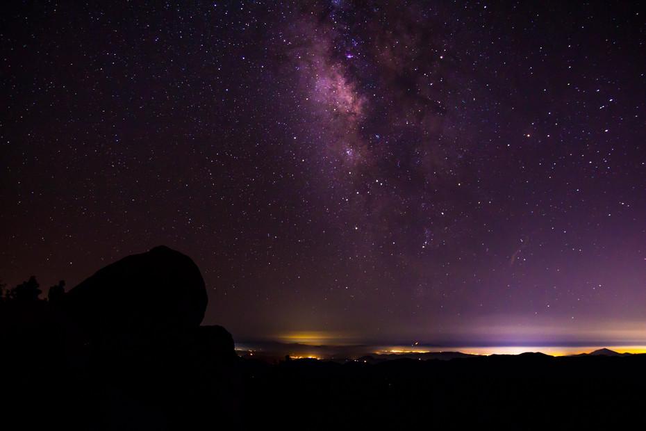 Milky Way Over Mexico