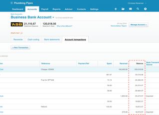 Xero Update - Future dated transactions