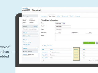 WorkflowMax - Invigorated Invoicing Experience