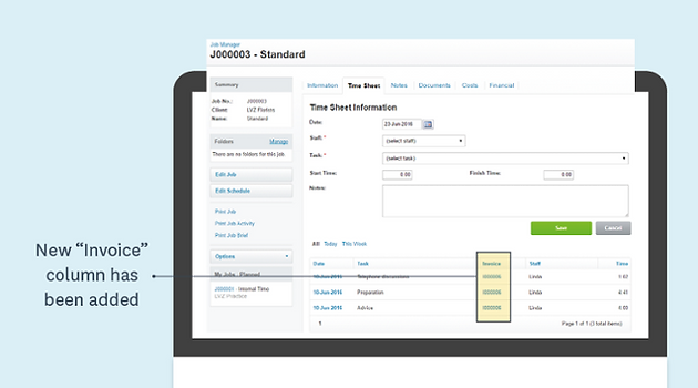 WorkflowMax Invigorated Invoicing Experience Project Management - Project management software with invoicing
