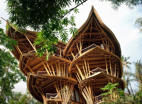 バリ島の「green village」竹の有効活用