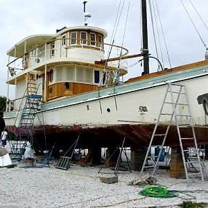 """""""Iva W"""" 1929 Oyster Buyboat"""