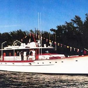 """""""Exact"""" a 1965 71' Trumpy yacht"""