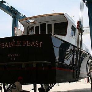 """""""Moveable Feast,"""" a 1961 60' Huckins"""
