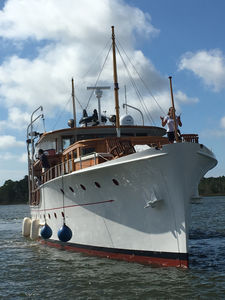 The Firestones as yachtsmen,