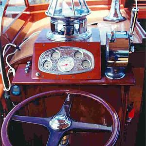 """""""Althea"""" a 1929, 38' Chris Craft Commuter"""
