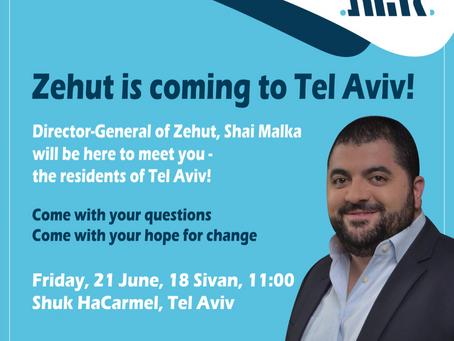 Shai Malka is coming to Tel Aviv!