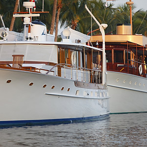 """Aurora II"" 1947, 62' Trumpy Yacht"