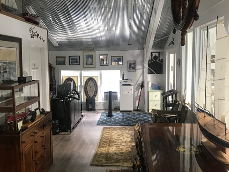 The ultimate man cave, my ideas of slowing down
