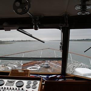 """""""Stately Lady,"""" a 1972 72' Trumpy yacht"""