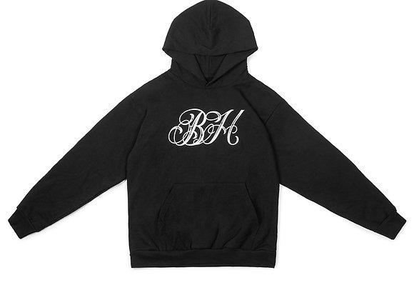 bad habit monogram hoodie