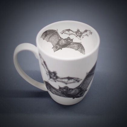 Flying Bats Bone China or Stoneware Mug CCL