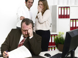 Decreased productivity, absenteeism, poor morale, staff turnover...