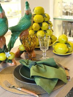 Decoração de limão