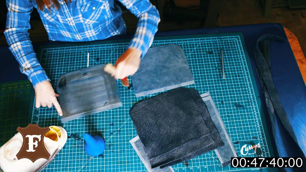 Handcrafed purse