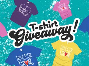 T-Shirt Giveaway!!!