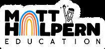 Matt-Halpern-Education-Logo-with-White-b