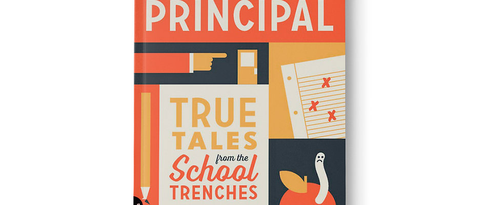 AUTOGRAPHED - Go See The Principal Book by Gerry Brooks