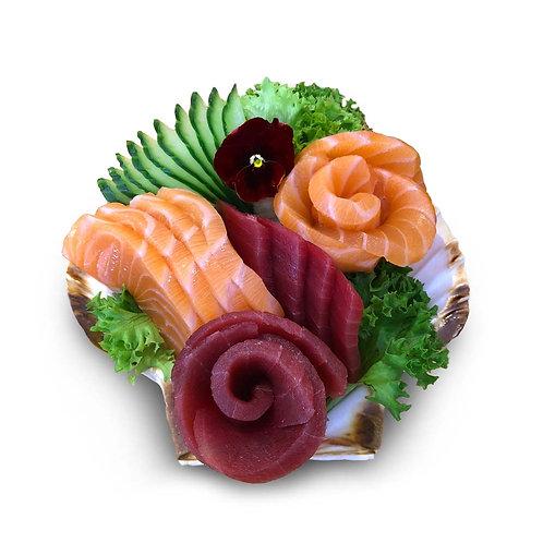 S3. Sashimi Saumon & Thon
