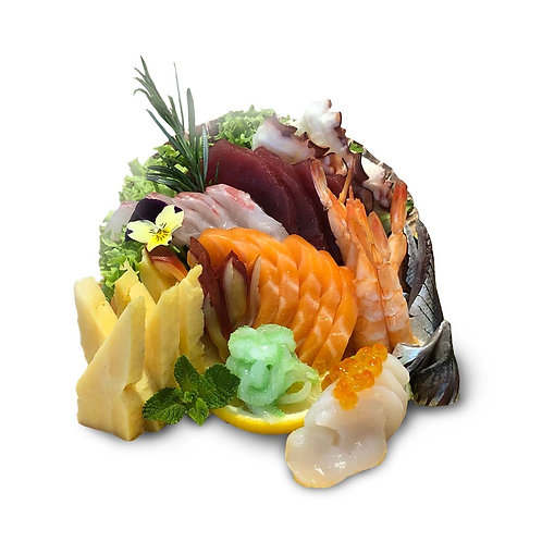 S4. Sashimi Assortiments (20pc)