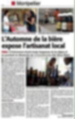 LET IT BEER - L'automne de la bière le 2ème salon de la bière artisanale de Montpellier