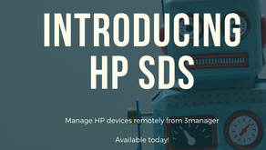 HP SDS + 3manager